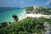 Mayan ruins of Tulum. Mexico