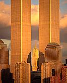 World Trade Towers. New York City. USA