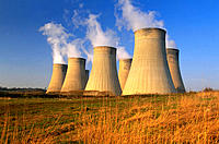 Coal-fired power station. Ratcliffe-on-Soar. Nottinghamshire. England