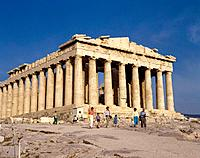 Greece. Athens. Parthenon.