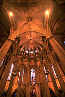 The Cathedral. Barcelona. Spain