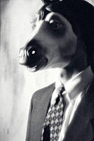 Horse-headed executive