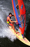 Windsurfing, Columbia River. Oregon. USA