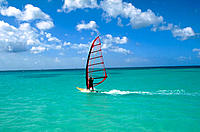 Windsurfing in the Grenadines