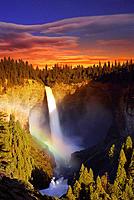 Helmcken Falls. Wells Gray Prov. Park. BC. Canada