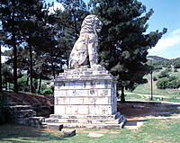 Lion statue. Amphipolis. Greece