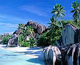 Anse Source d´Argent. La Digue island. Seychelles