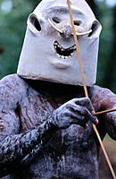 Asaro Mudman. Komiufa village. Papua New Guinea