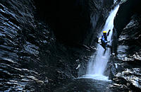 Canyoning. South Island. New Zealand