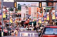 Street Beale. Memphis. Tennessee. USA