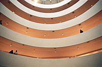 Guggenheim museum, by Frank Lloyd Wright, built in 1959. New York City. USA