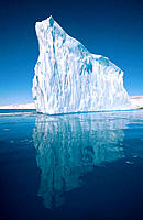 Iceberg spires. Petermann Islands. Antarctic Peninsula