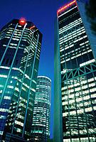 Office towers. Sydney. Australia