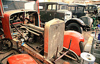 Hispano-Suiza automobiles restoration workshop