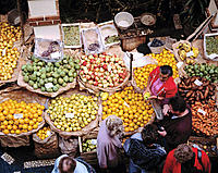 Vegetables and fruits market. Funchal. Madeira