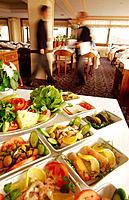 Restaurant. Istanbul. Turkey