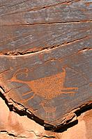 Petroglyphs, Anasazi culture. Monument Valley. Utah. USA