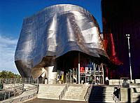 Experience Music Project, interactive music museum built by Frank O. Gehry. Seattle. USA