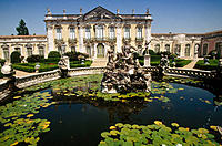 National Palace of Queluz (1747-1794). Lisbon. Portugal