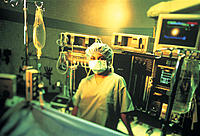 Portrait, Surgeon in Operating Room