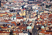 Prague, Czech Republic, overview on the city