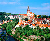 Cesk&#253; Krumlov. Czech Republic