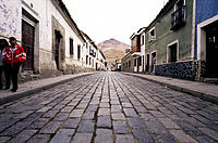 Typical street. Potosí. Bolivia
