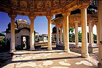 Old palace pergola. Bikaner. Rajasthan. India