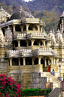 Adinath Temple, main entrance. Ranakpur. India