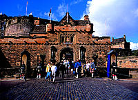 Edinburgh Castle, Scotland, U.K