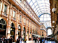 Galleria, Milano, Italy.