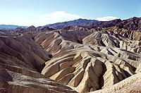 Zabriskie Point. Death Valley National Park. CA. USA