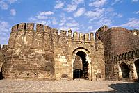 Daulatabad fort, entrance. Aurangabad. India
