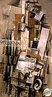 The Man with a Guitar 1910Georges Braque (1882-1963/French)Musee National d´Art Moderne