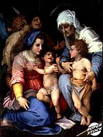 The Holy Family With Angelsc. 1515-16 Andrea Del Sarto (1486-1530/Italian) Musee du Louvre, Paris