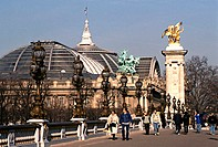Pont Alexandre III, Grand Palais, Paris, France