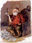 Santa Nostalgia Cards