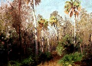 Gulf Hammock (Florida)Herman Herzog (1823-1932 American)Oil on canvasDavid David Gallery, Philadelphia, Pennsylvania, USA