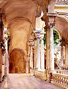 Genoa: The UniversityJohn Singer Sargent (1856-1925 American)