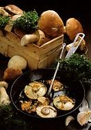 Mushrooms Italian Style