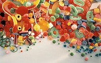 Several Types of Candy for Kids
