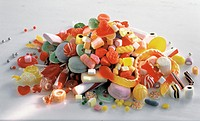 A Mountain of Assorted Candies