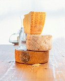 Still life with Pecorino, Tourmalet & Parmigiano-Reggiano (2)