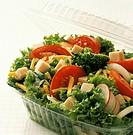 Chef´s Salad in Plastic Container