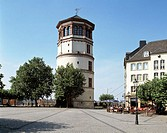 Germany, Düsseldorf, Rhine, North Rhine-Westphalia, castle tower