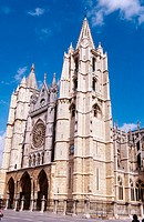 Gothic cathedral of Santa María de Regla. León. Spain