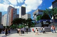 Largo da Carioca. Rio de Janeiro. Brazil