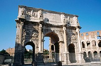 Arch of Constantine. Rome. Italy
