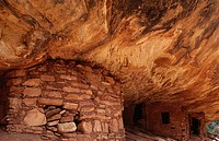 Mule Canyon native American ruins. Cedar Mesa. Utah. USA