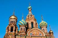 Church of the Bleeding Savior. St. Petersburg. Russia